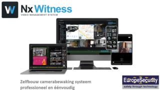 Zelfbouw camerabewaking systeem, NX Witness VMS
