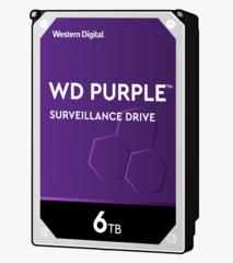 Harde Schijf 6TB 24/7 opslag, WD Purple WD60PURZ