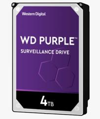 Harde Schijf 4TB 24/7 opslag, WD Purple WD40PURZ