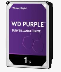 Harde Schijf 1TB 24/7 opslag, WD Purple WD10PURZ
