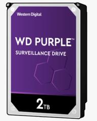 Harde Schijf 2TB 24/7 opslag, WD Purple WD20PURZ