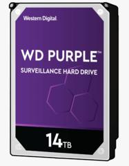 Harde Schijf 14TB 24/7 opslag, WD Purple WD140PURZ