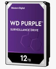 Harde Schijf 12TB 24/7 opslag, WD Purple WD121PURZ