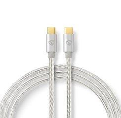 USB Type-C 2.0 vergulde kabel, 3 meter