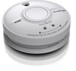 230V Rookmelder voor in huis, FireAngel SW10-EUT, 10 jaar back-up batterij