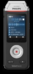 Philips DVT6110 Voice Tracer mobiele audio recorder, HiFi 3 microfoons met app