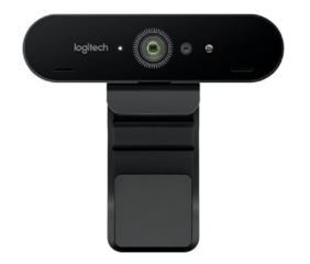 Logitech BRIO 4K ultra HD webcam - webcamera, 4096 x 2160, USB