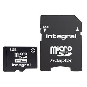 Micro SDHC geheugenkaart, 8GB