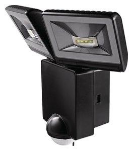 LUXA 102 140 LED 16W schrikverlichting 2 stralers met bewegingssensor
