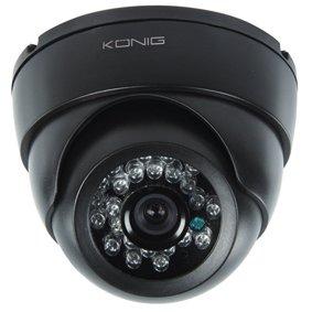 CCTV dome camera met IR LED