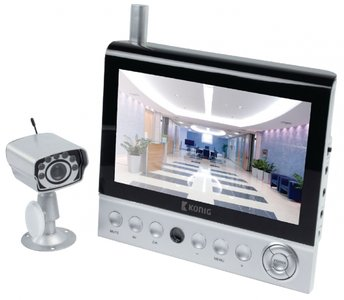 Camera systeem 7-inch LCD monitor met camera