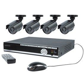 Beveiligingsset met 500GB DVR en 4 camera`s SEC-SETDVR40