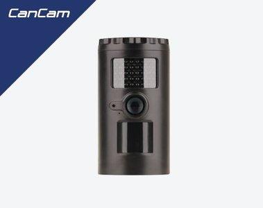 CanCam 720p cameraval, beveiligingscamera, op batterijen. voor als er niets is!