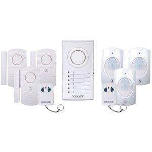 Draadloos plug and play alarmsysteem