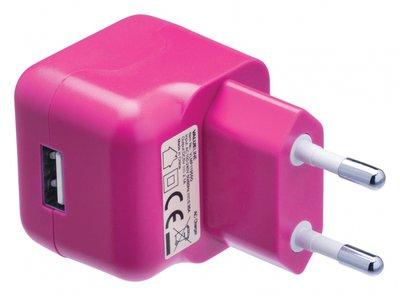 USB-lader roze
