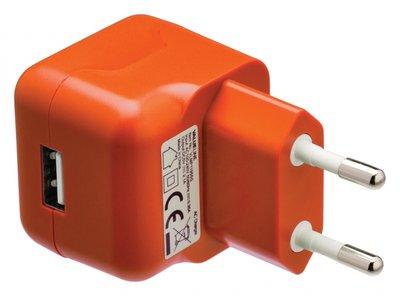 USB-lader oranje