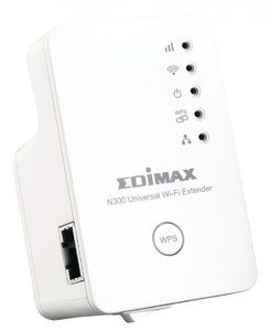 Draadloze WiFi Repeater / Extender N300 2.4 GHz 10/100 Mbit Wit
