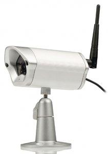 IP-camera voor videobewaking buitenshuis op afstand