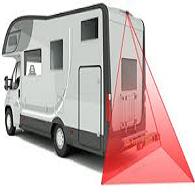 Achteruitrijcamera set voor campers en bakwagens