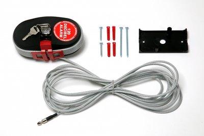 Lock Alarm 6798 XL 10 meter, extra lang kabelslot met alarm