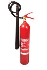 Ecofex koolzuursneeuwblusser, CO-2 blusser inclusief ophangbeugel 2 kg