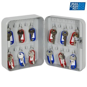 Sleutelkast 20 sleutels, Keybox 20 haken