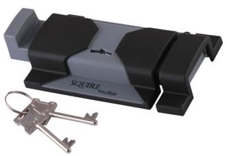 Squire Keybolt, schuifslot met sleutels voor buiten