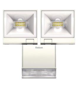 theLeda S20 WH, 2 LED lampen met bewegingssensor, 10 Watt elk