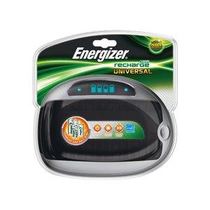 Energizer universele batterij lader voor AAA, AA, C, D, E-block NiMH batterijen